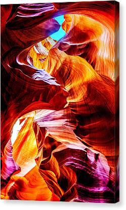 Flowing Canvas Print by Az Jackson