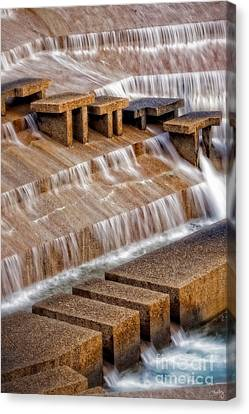 Flowing Water Canvas Print by Imagery by Charly