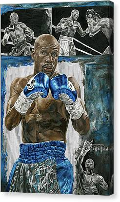 Floyd At His Finest Canvas Print by David Courson