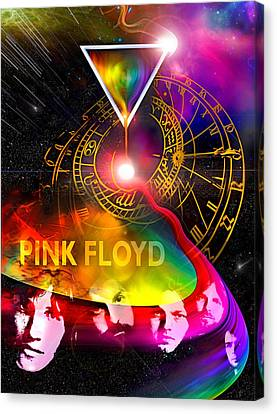 Floyd Time Canvas Print by Mal Bray