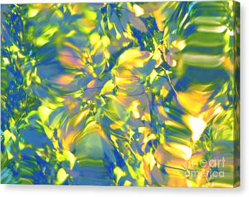 Fluttering Of Color Canvas Print by Sybil Staples