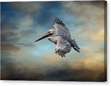 Fly Away With Me Canvas Print by Kim Hojnacki