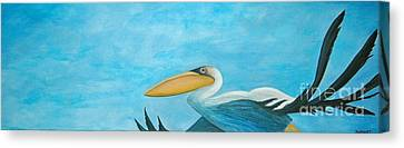 Fly Far Away Canvas Print by Stephanie Troxell