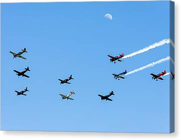 Fly Me To The Moon Canvas Print by Marco Oliveira