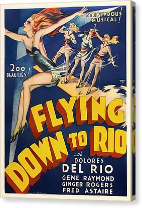 Flying Down To Rio  Canvas Print by Mountain Dreams