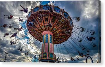 Flying High Canvas Print by Carlos Ruiz