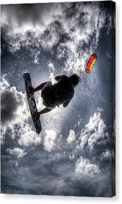 Flying  Canvas Print by Nick  Shirghio