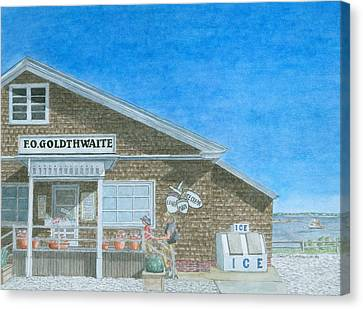 F.o. Goldthwaite Canvas Print by Dominic White