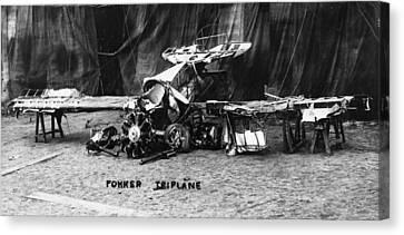 Fokker Tri-motor Airplane Canvas Print by Granger