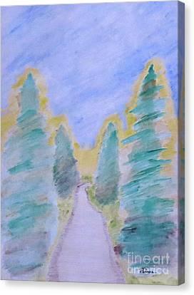 Follow Me  Canvas Print by Adina Art