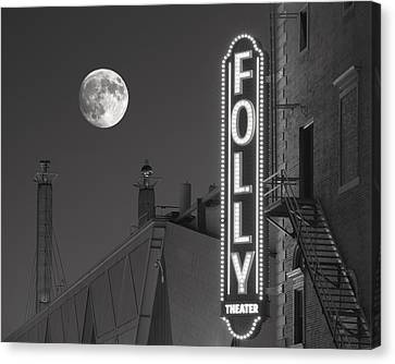 Folly Theatre Kansas City Canvas Print by Don Spenner