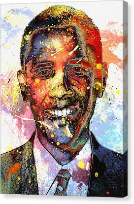 For A Colored World Canvas Print by Steve K