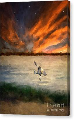 For Just This One Moment Canvas Print by Lois Bryan