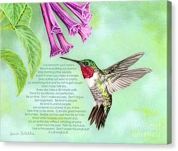 For Rosemary Canvas Print by Sarah Batalka