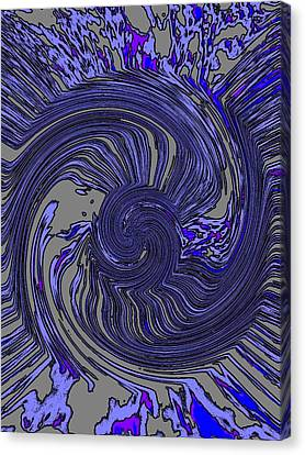 Force Of Nature Canvas Print by Tim Allen