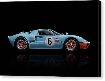 Ford Gt 40 Canvas Print by Douglas Pittman
