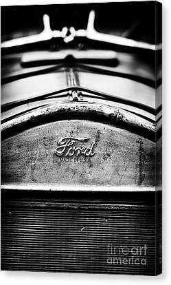 Ford Made In Usa  Canvas Print by Tim Gainey