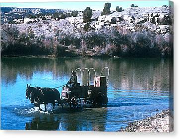 Ford The River Canvas Print by Jerry McElroy