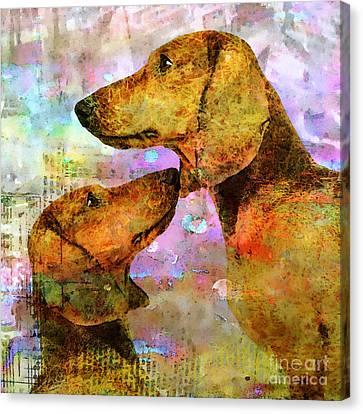 Forever Friends Canvas Print by Stacey Chiew