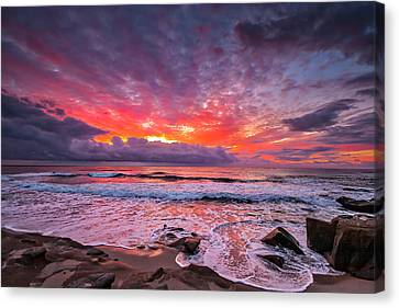 Forever Canvas Print by Peter Tellone
