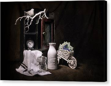 Forget Me Not Still Life Canvas Print by Tom Mc Nemar