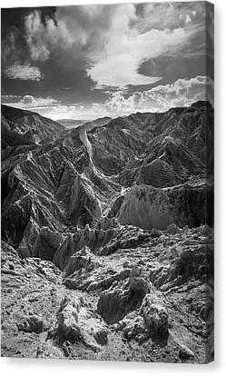 Forgotten - Canyon Sin Nombre Canvas Print by Alexander Kunz