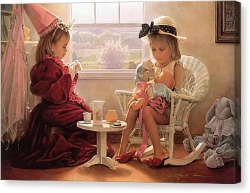 Formal Luncheon Canvas Print by Greg Olsen