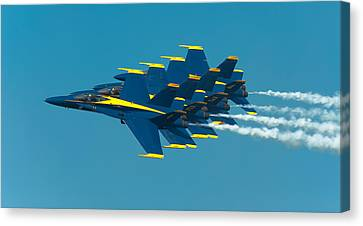 Formation Canvas Print by Sebastian Musial