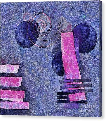 Formes - 18a Canvas Print by Variance Collections