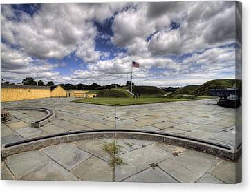 Fort Moultrie Canvas Print by Dustin K Ryan