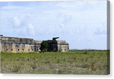 Fort Pickens Canvas Print by Laurie Perry