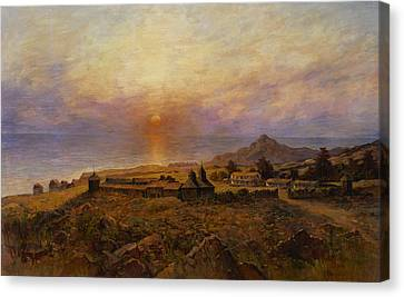 Fort Ross Canvas Print by Henry Raschen