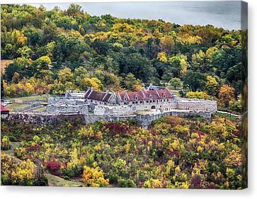 Fort Ticonderoga Canvas Print by John Haldane