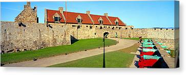 Fort Ticonderoga, Lake Champlain, New Canvas Print by Panoramic Images