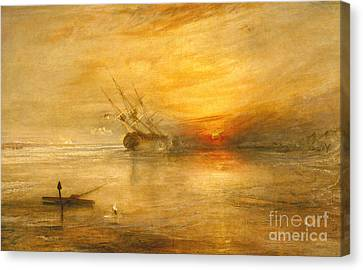Fort Vimieux Canvas Print by Joseph Mallord William Turner