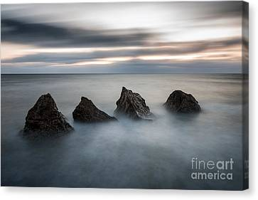 Four Rocks Canvas Print by Ray Pritchard