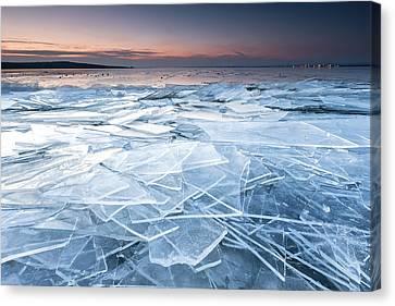 Frail Lake Canvas Print by Evgeni Dinev