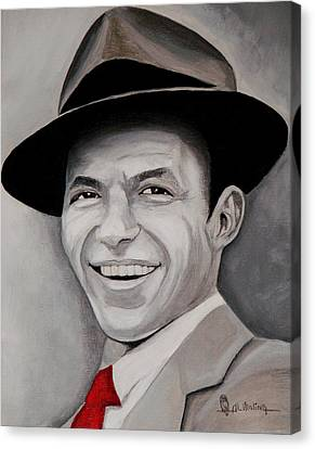 Frank  Canvas Print by Al  Molina