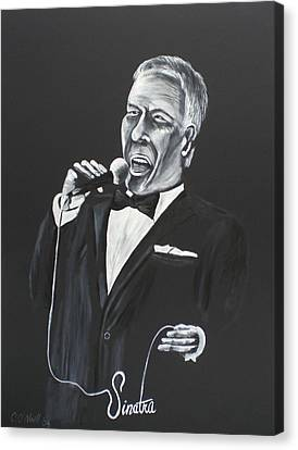 Frank Canvas Print by Colin O neill