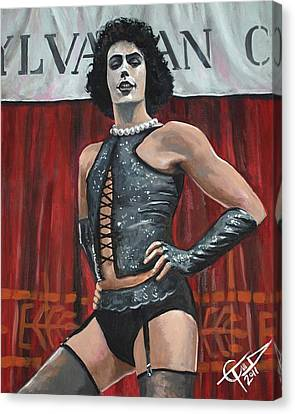 Frank-n-furter Canvas Print by Tom Carlton
