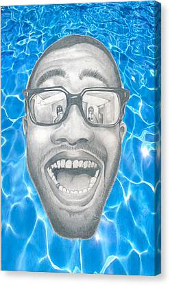 Frank Ocean Canvas Print by Mercedes Carter-Gomes