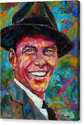Frank Sinatra Canvas Print by Debra Hurd