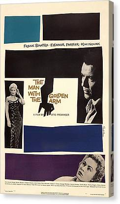 Frank Sinatra In The Man With The Golden Arm 1955 Canvas Print by Mountain Dreams