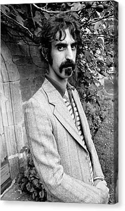 Frank Zappa 1970 Canvas Print by Chris Walter