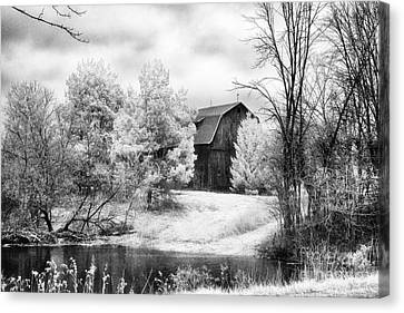 Frankenmuth Farm Canvas Print by Jeff Holbrook
