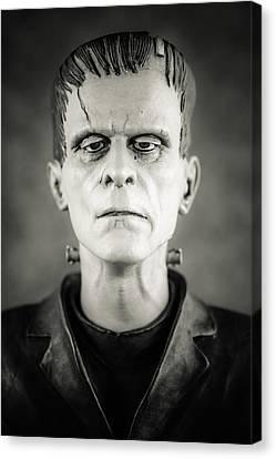 Frankenstein's Monster - Boris Karloff II Canvas Print by Marco Oliveira