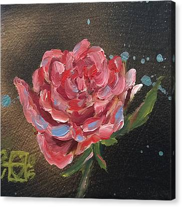Frankie's Rose Canvas Print by Andrea LaHue