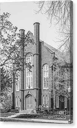 Franklin And Marshall College Goethian Hall Canvas Print by University Icons