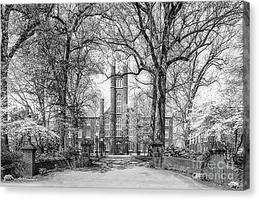 Franklin And Marshall College Manning Alumni Green  Canvas Print by University Icons