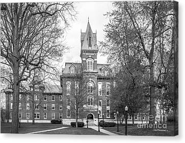 Franklin College Old Main Canvas Print by University Icons
